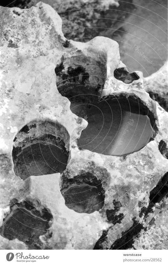 Water Erosion Limestone