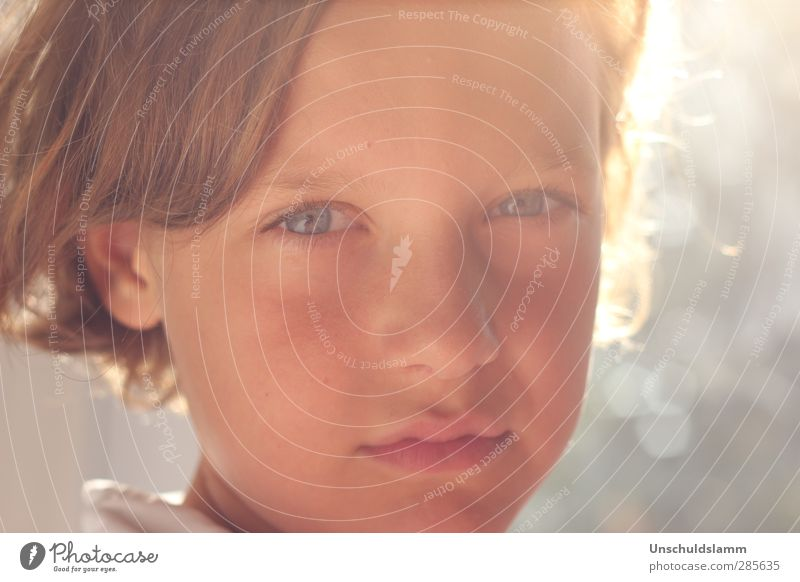Me in your eyes Human being Masculine Boy (child) Infancy Life Head Face 1 8 - 13 years Child Blonde Authentic Bright Beautiful Near Natural Soft Emotions Moody