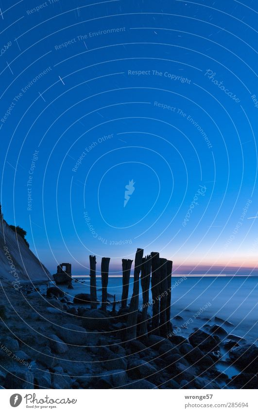 Sky Nature Blue Loneliness Landscape Beach Coast Spring Wood Stone Lake Horizon Beautiful weather Observe Stars Baltic Sea