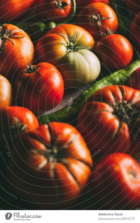 Ecological and natural tomatoes Agriculture Diet eco Food Fruit Green Healthy Natural Deserted Organic Pepper RAF Raw Red ugly varieties Vegan diet Vegetable