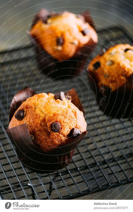 Chocolate muffins Baking Book Breakfast Cake Hot Chocolate Cupcake Dessert Food handmande Home-made Muffin Napkin Rustic Sweet