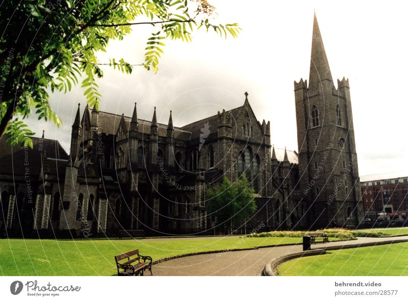 Nature Old Green Religion and faith Architecture Gothic period Ireland House of worship Dublin