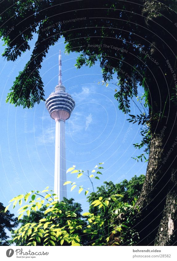 Building Architecture Level Tower Point Television tower Malaya Kuala Lumpur