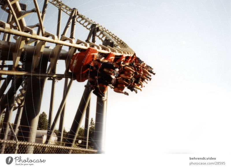 Like so many of Vekoma... Roller coaster Amusement Park Hang Driving Leisure and hobbies Scream Suspended Coaster top gun Canada's Wonderland Paramount