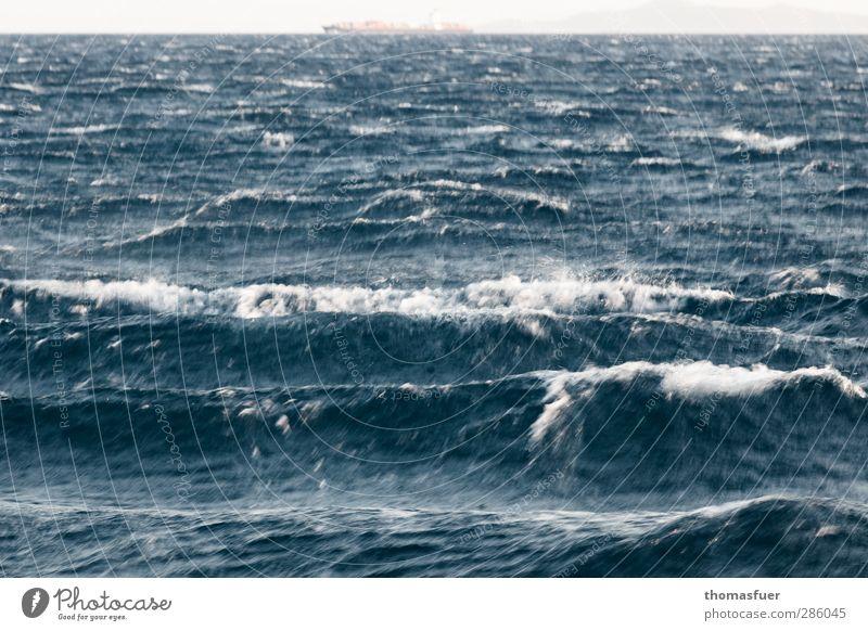 Nature Blue Water Summer Ocean Coast Gray Freedom Horizon Waves Fear Power Wind Wet Trip Dangerous