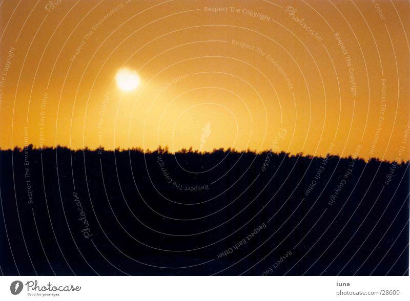 Sky Sun Ocean Vacation & Travel Warmth Landscape Moody Orange Horizon Romance Physics Dusk Croatia