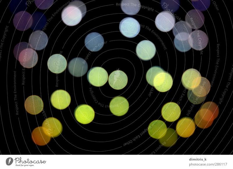 dots pattern at night Colour Black Dark Bright Background picture Design Decoration Circle Creativity Round Point Seasons Disco Transparent Haze Music