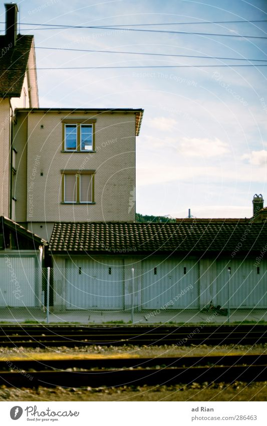 Sky Old House (Residential Structure) Window Wall (building) Autumn Architecture Wall (barrier) Building Facade Elegant Beautiful weather Esthetic