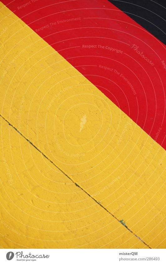 Red Black Yellow Art Germany Design Gold Esthetic Crazy Creativity Stripe Past Federal eagle German Flag Symbols and metaphors