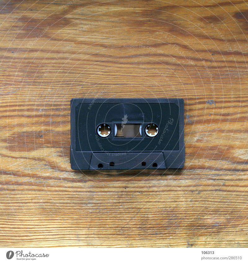 Old Happy Music Retro Media Analog Radio (device) Vintage Audio tape Tape cassette Occur