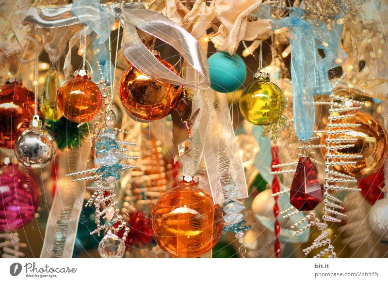 Christmas & Advent Happy Religion and faith Interior design Feasts & Celebrations Glittering Glass Happiness Living or residing Crazy Decoration String Kitsch