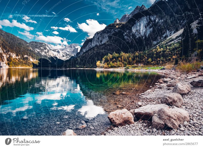 gosausee Wellness Life Harmonious Well-being Contentment Relaxation Calm Vacation & Travel Tourism Trip Adventure Far-off places Freedom Camping Cycling tour