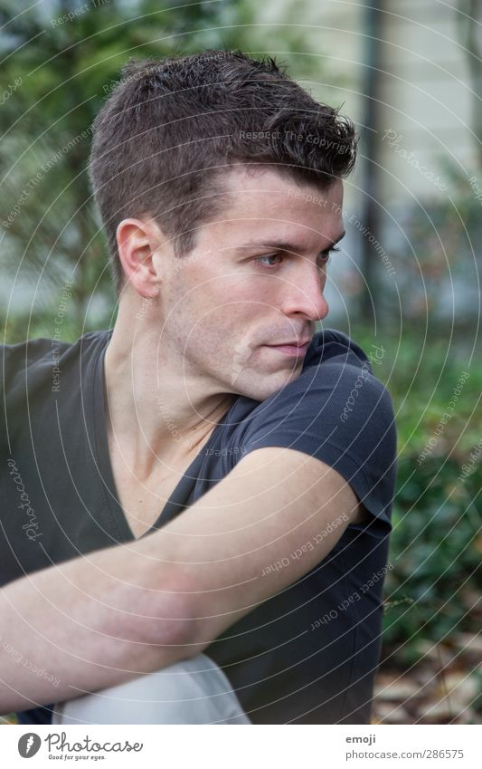 Human being Youth (Young adults) Beautiful Adults Young man 18 - 30 years Masculine Brunette Short-haired