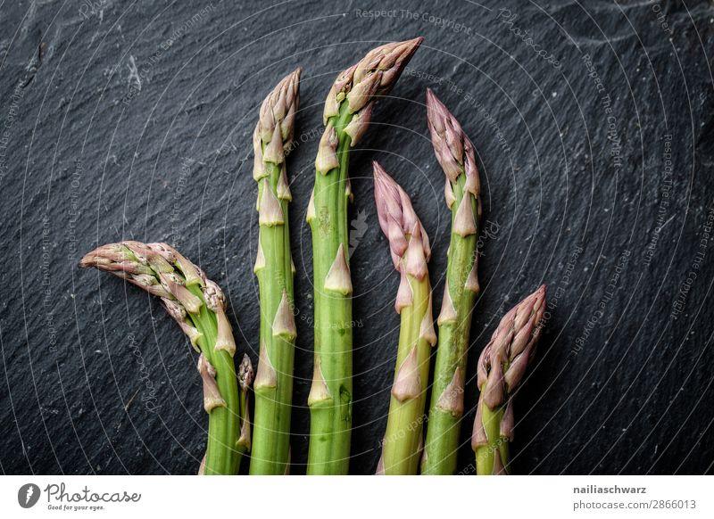fresh green asparagus Food Vegetable Asparagus Asparagus season Bunch of asparagus Nutrition Eating Organic produce Vegetarian diet Diet Fasting Healthy Eating