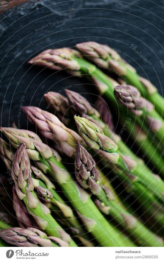 Green asparagus Food Vegetable Asparagus green asparagus Nutrition Organic produce Vegetarian diet Diet Asparagus season Healthy Eating Life Fresh Delicious