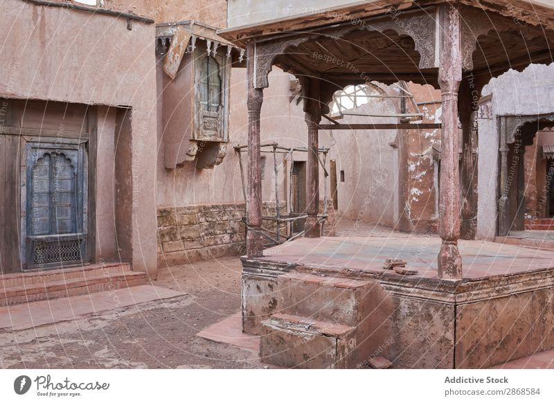 Old narrow street of ancient town Street Town Night Marrakesh Morocco House (Residential Structure) City Poverty Ancient Evening Amazing Vantage point Narrow