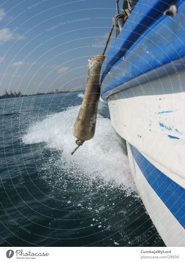 Water Ocean Blue Watercraft Waves Driving Navigation Fender