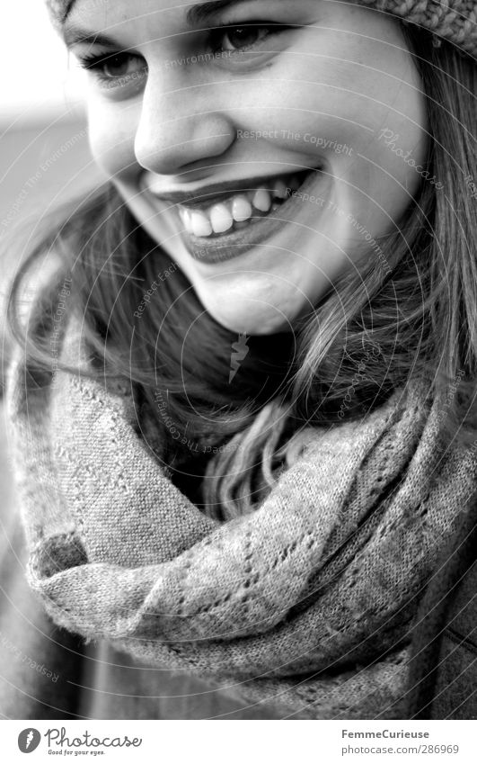 The smile on her face. Beautiful Feminine Young woman Youth (Young adults) Woman Adults 1 Human being 18 - 30 years Esthetic Contentment Elegant Success
