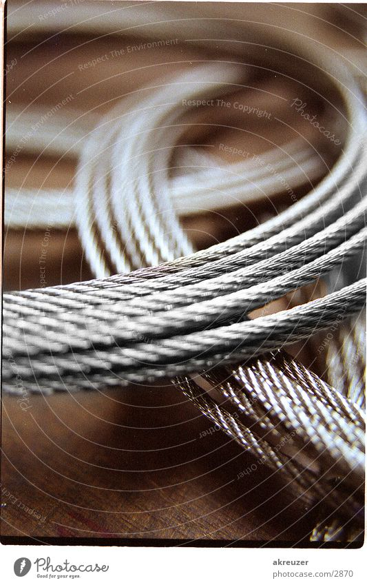 2 ropes Blur Industry Metal Rope Reflection