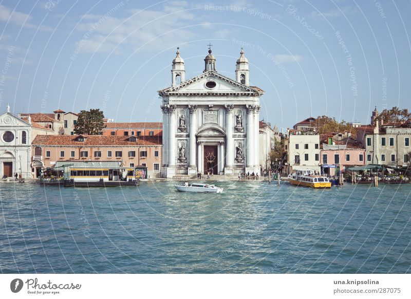 ...no... Vacation & Travel Tourism Sightseeing City trip Water Venice Italy House (Residential Structure) Church Manmade structures Building Navigation