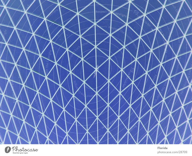 Network_2 Domed roof Roof Aspire Grating Architecture Museum Sky Blue