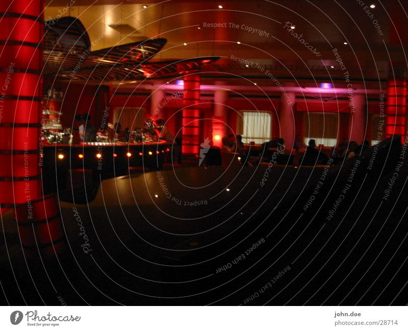 crew bar Bar Dim light Disco Photographic technology red light Dance