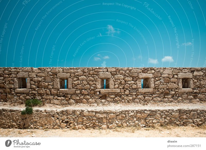 fortress wall Vacation & Travel Tourism Trip Adventure Sightseeing Summer Summer vacation Earth Sand Sky Clouds Manmade structures Fortress Wall (barrier)