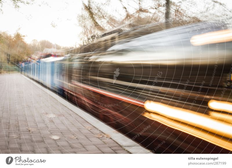 Movement Transport Speed Railroad Driving Logistics Mobility Means of transport Platform Engines Train travel Rail transport Passenger train Steamlocomotive