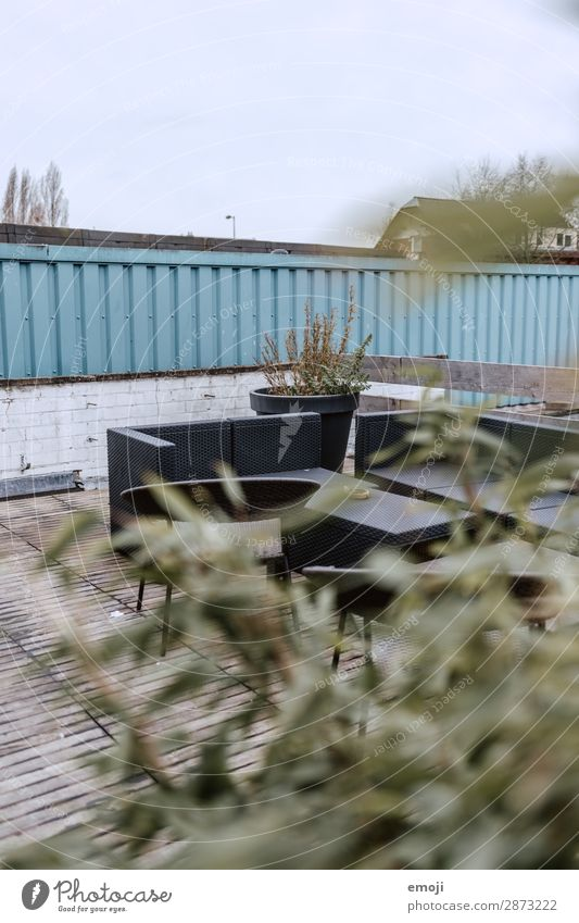 patio Leisure and hobbies Living or residing Spring Summer Terrace Lounge Colour photo Exterior shot Deserted Day Shallow depth of field