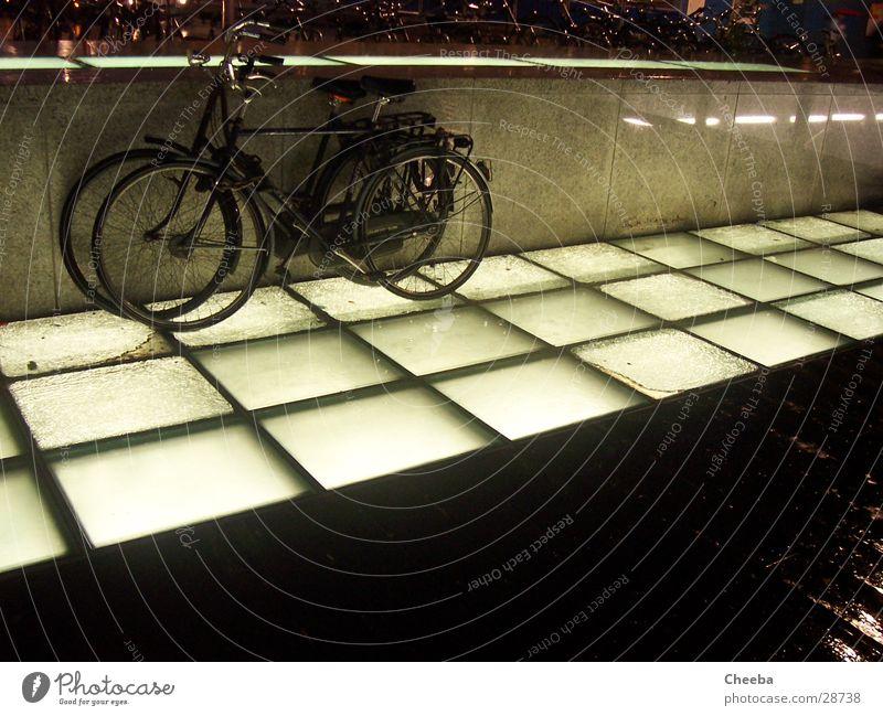 Lamp Dark Rain Bicycle Transport Floor covering Netherlands Amsterdam