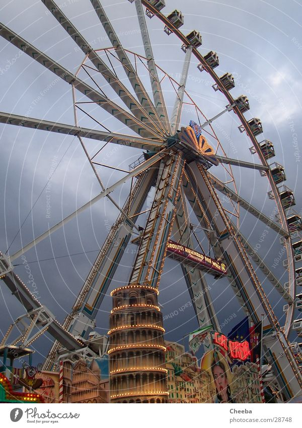 Sky Large Tower Round Fairs & Carnivals Tilt Ferris wheel PISA study
