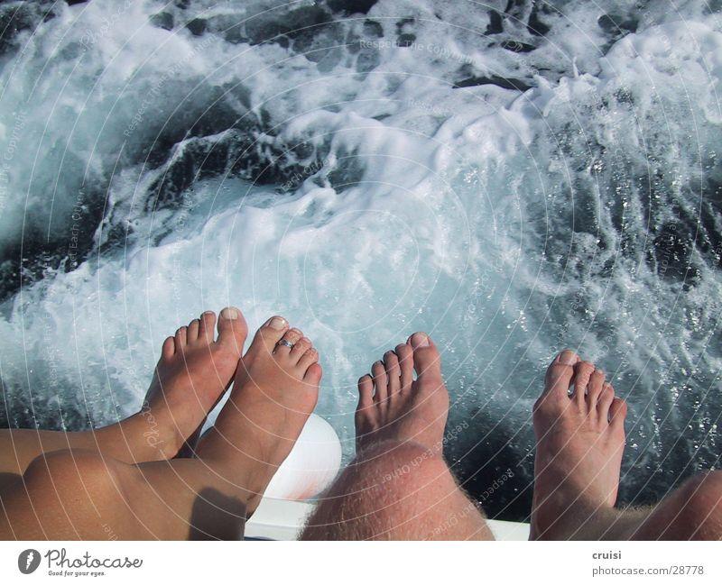 foot tree Watercraft White crest Croatia Kornati Toes Navigation Feet Cornati Barefoot