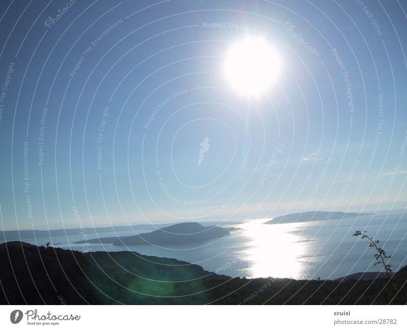 Water Sun Summer Vacation & Travel Island Croatia String of islands