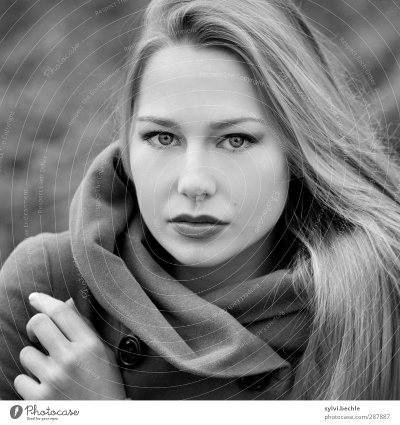 Human being Youth (Young adults) Beautiful Calm Adults Young woman Life Feminine 18 - 30 years Fashion Moody Natural Blonde Wind Elegant Clothing