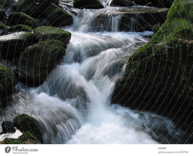 Water Stone River Brook Waterfall Mountain stream