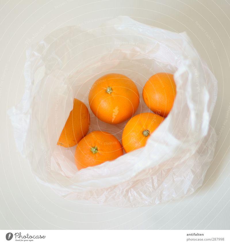 Wichtelpopichtel for Schiffner/Fresh Fruits Food Orange Nutrition Eating Breakfast Organic produce Vegetarian diet Diet Slow food Plastic packaging Paper bag