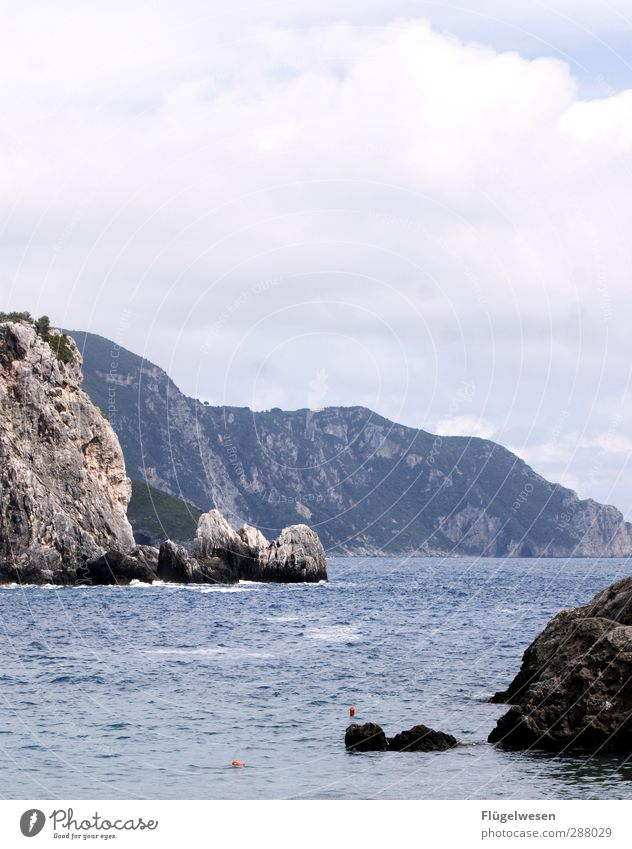 Nature Summer Ocean Beach Landscape Environment Mountain Swimming & Bathing Rock Weather Waves Climate Hiking Island Beautiful weather Lakeside