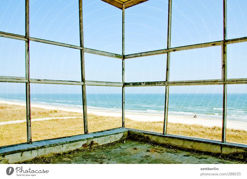 Sky Nature Summer Ocean Joy Beach Landscape Far-off places Environment Window Architecture Coast Building Horizon Weather Facade