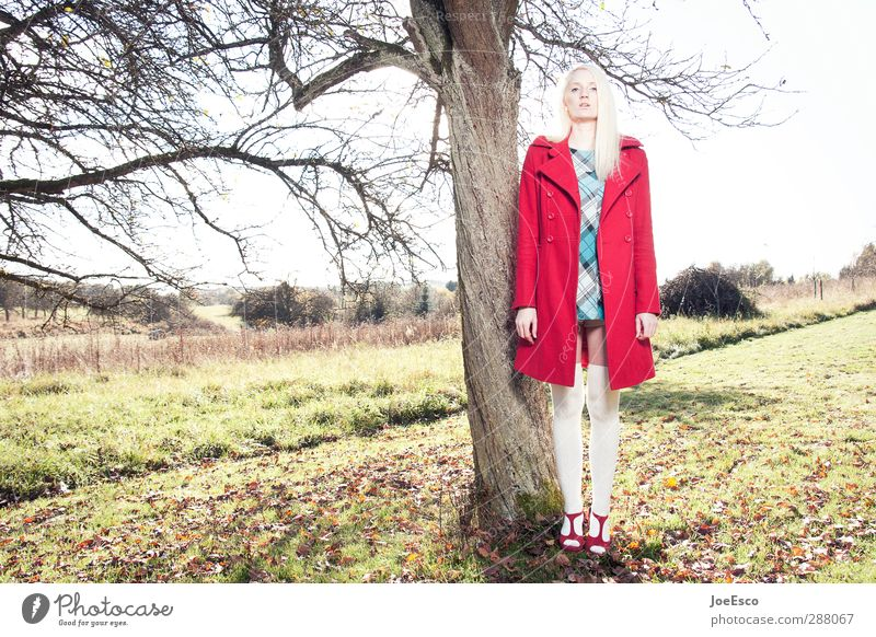 Human being Woman Nature Beautiful Tree Landscape Adults Life Freedom Style Fashion Dream Exceptional Blonde Contentment Authentic