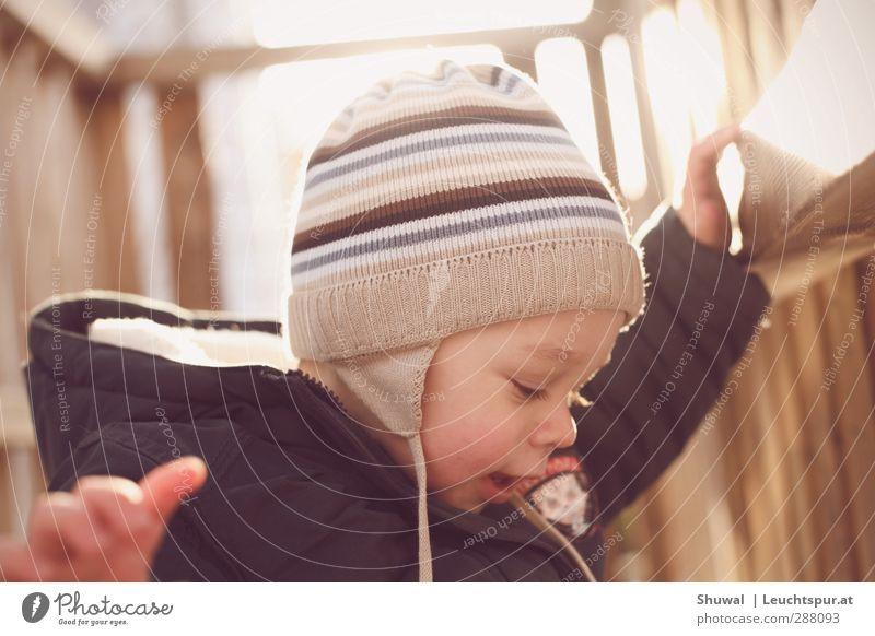 Kid n' Play Winter Masculine Toddler Infancy Head 1 Human being 1 - 3 years Jacket Cap Playing Leisure and hobbies Joy Playground pedagogy Kindergarten