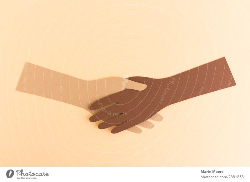 Human being Hand Together Work and employment Friendship Modern Communicate Power Success Uniqueness Illustration Help To hold on Team Attachment Peace