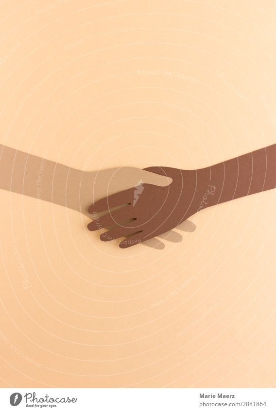 Human being Hand Religion and faith Exceptional Together Brown Friendship Communicate Power Esthetic Success Uniqueness Illustration Help Friendliness