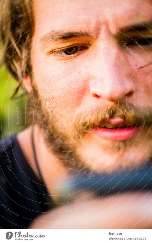 Human being Man Face Eyes - a Royalty Free Stock Photo from Photocase