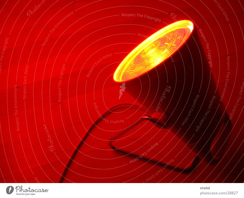 red light Lamp Red Hot Electricity Electric bulb Light Living or residing Traffic light Light (Natural Phenomenon)