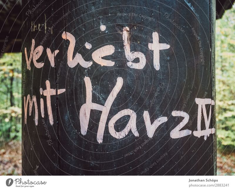 In love with Hartz IV Contentment Concern Fear Fear of the future Distress Indifferent Comfortable Frustration Poverty Poverty threshold Existence