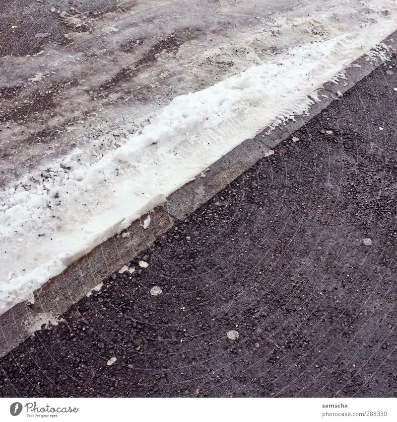 City Winter Cold Environment Street Snow Lanes & trails Ice Transport Free Wet Frost Traffic infrastructure Pavement Road traffic Curbside