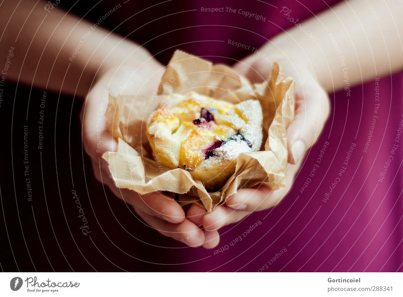 Made with Love Food Dough Baked goods Cake Dessert Candy Nutrition To have a coffee Slow food Feminine Young woman Youth (Young adults) Hand 1 Human being