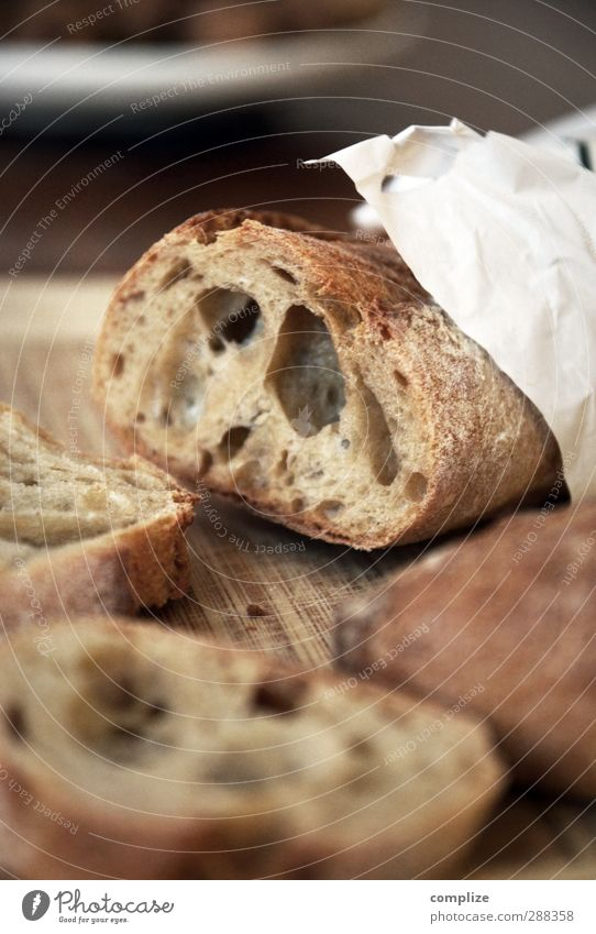 Oh la la Baguette! Food Dough Baked goods Bread Roll Nutrition Eating Breakfast Lunch Dinner Buffet Brunch Picnic Organic produce Italian Food Plate Bowl Knives