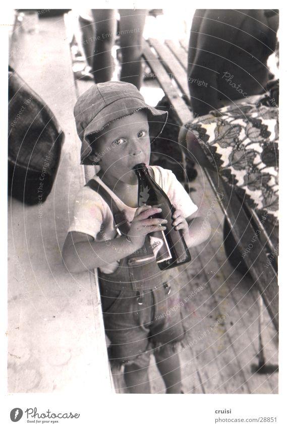 Child Man Summer Vacation & Travel Bottle Beer Alcoholic drinks Bottle of beer