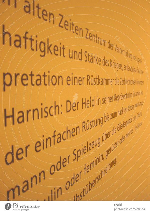 Wall (building) Art Perspective Letters (alphabet) Text Figure of speech Literature
